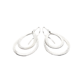 Small double drop earring