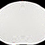 Small double drop earring von Pernille Corydon in Silber Sterling 925  ,Blank