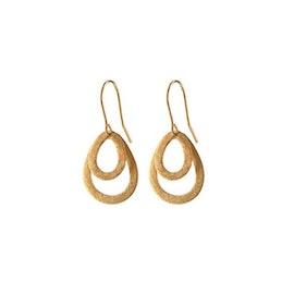 Mini Double Drop earring