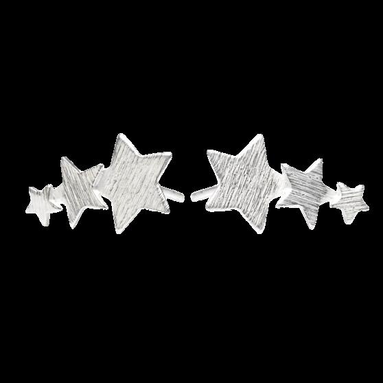 Shooting star earsticks von Pernille Corydon in Silber Sterling 925|