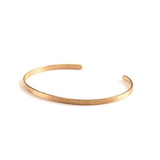 Alliance Bracelet from Pernille Corydon in Goldplated-Silver Sterling 925|Matt