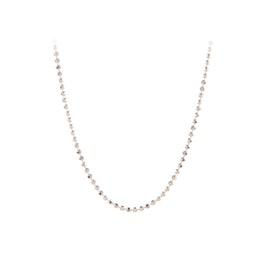 Facet Plain Necklace von Pernille Corydon in Silber Sterling 925|Blank