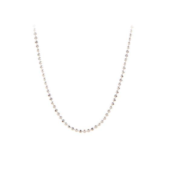 Facet Plain Necklace fra Pernille Corydon i Sølv Sterling 925|Blank