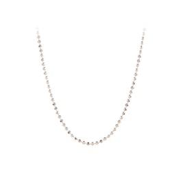 Facet Plain Necklace long