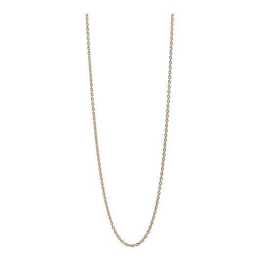 Long Anchor chain fra Pernille Corydon i Forgylt-Sølv Sterling 925|Blank