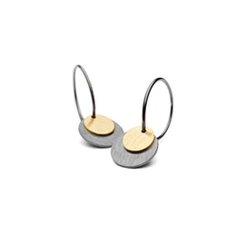 Small Combi Coin earrings