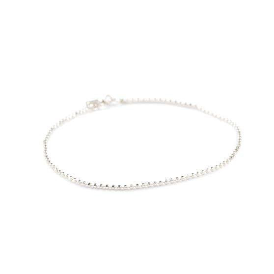 Facet Plain bracelet medium von Pernille Corydon in Silber Sterling 925