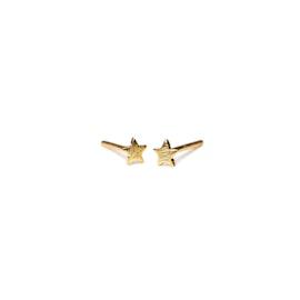 Mini Star earsticks fra Pernille Corydon i Forgylt-Sølv Sterling 925|
