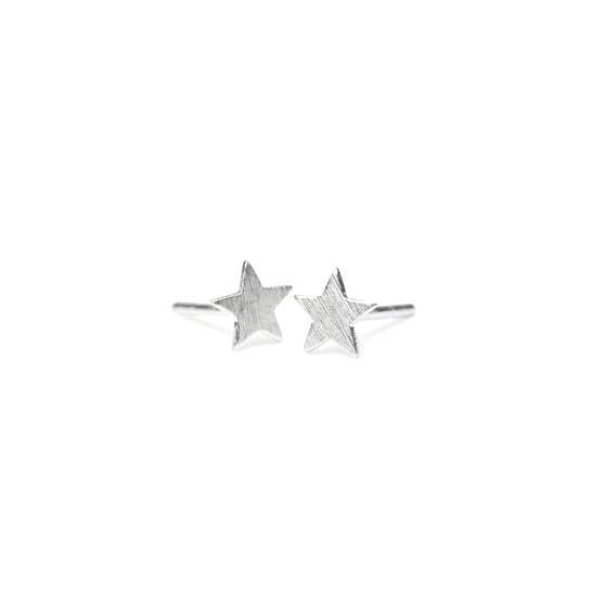 Small Star earsticks von Pernille Corydon in Silber Sterling 925|