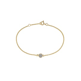 Carré Archive bracelet w. Grey Moonstone