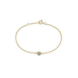 Carré Archive bracelet w. Grey Moonstone
