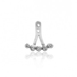 Ear Party earring w. 5 Zircons