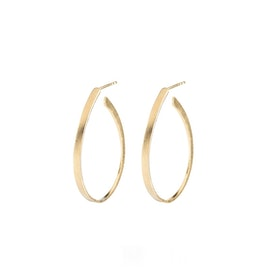 Oval Creol earrings