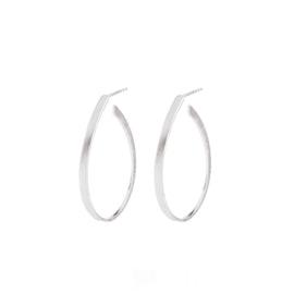 Oval Creol earrings