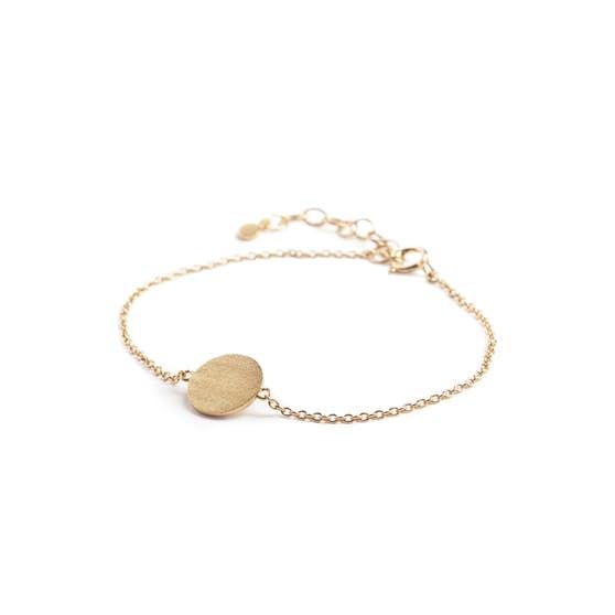 Small Coin bracelet von Pernille Corydon in Vergoldet-Silber Sterling 925