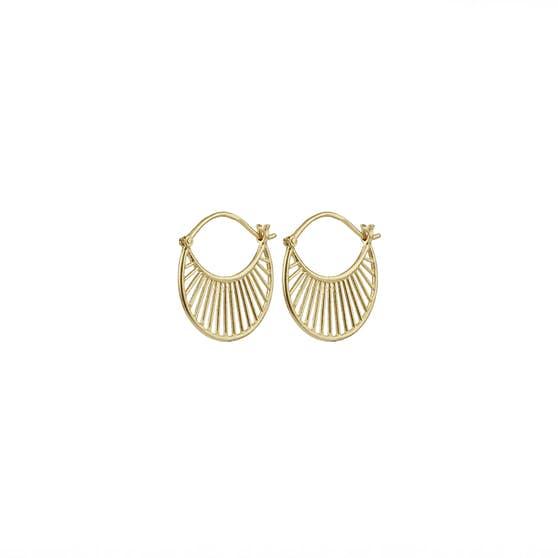 Daylight earrings från Pernille Corydon i Förgyllt-Silver Sterling 925|
