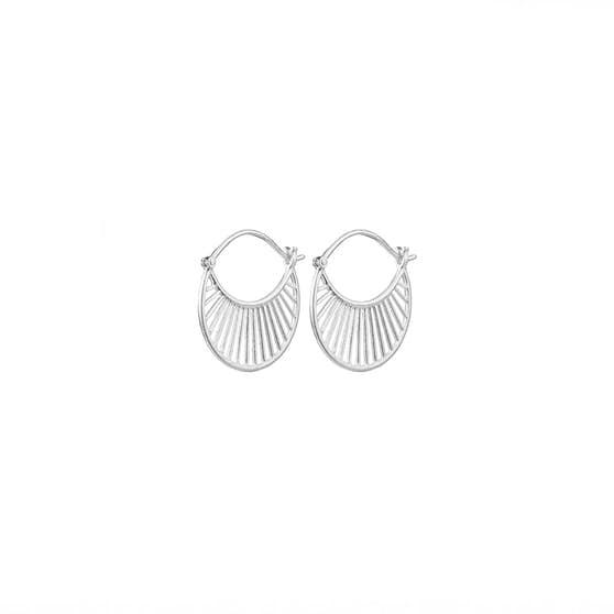 Daylight earrings from Pernille Corydon in Silver Sterling 925|