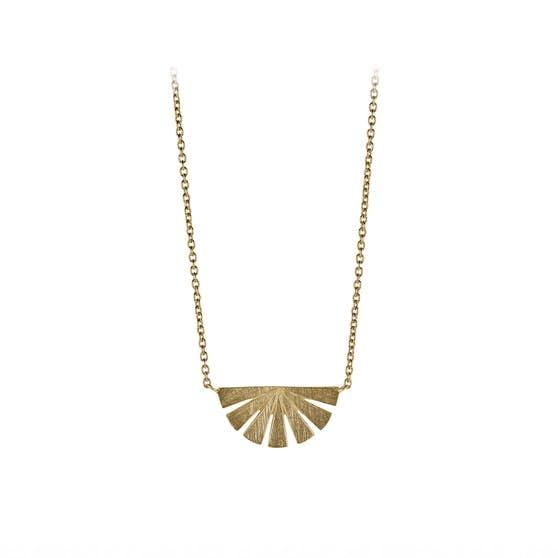 Dawn necklace fra Pernille Corydon i Forgylt-Sølv Sterling 925  Matt,Blank