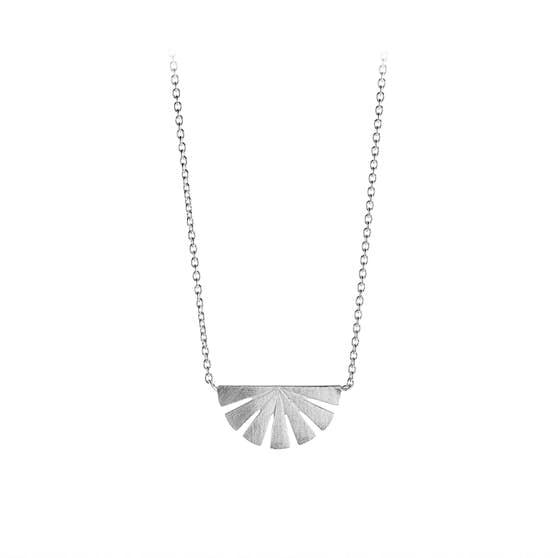 Dawn necklace von Pernille Corydon in Silber Sterling 925  Matt,Blank