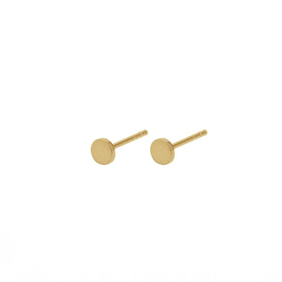 Mini Coin earsticks fra Pernille Corydon i Forgyldt-Sølv Sterling 925|Mat