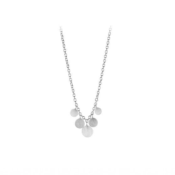 Mini Coin necklace fra Pernille Corydon i Sølv Sterling 925