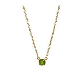 Gem Candy necklace w. Chrome Diopside