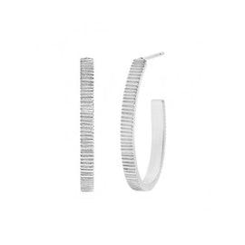 Gem Candy Oval Creol earrings
