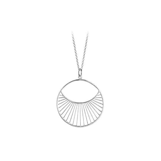 Daylight Short necklace fra Pernille Corydon i Sølv Sterling 925  Matt,Blank