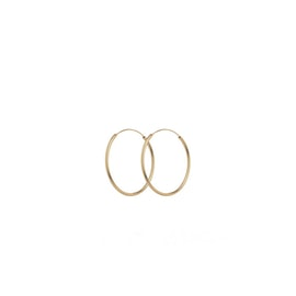 Mini Plain Hoop earrings