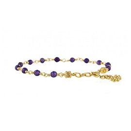 Archive bracelet Amethyst stones