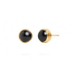 Carré Archive earsticks w. Black Agate