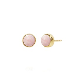 Carré Archive earsticks w. Pink Opal