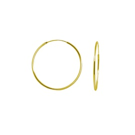 A-Hjort Small hoops from A-Hjort in Goldplated-Silver Sterling 925