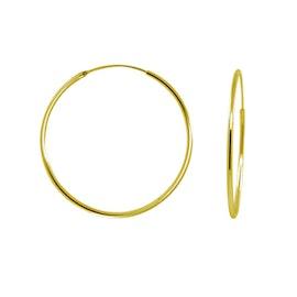 A-Hjort Big hoops von A-Hjort in Vergoldet-Silber Sterling 925