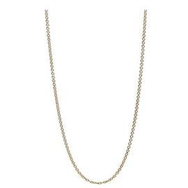A-Hjort Long chain fra A-Hjort i Forgylt-Sølv Sterling 925|Blank
