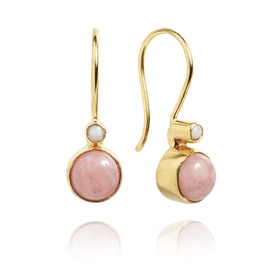 Carré Archive earrings Pink