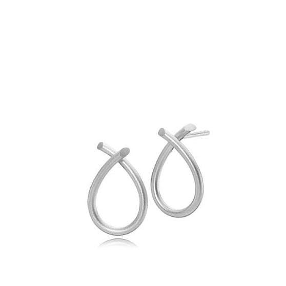 Everyday Medium earrings fra Izabel Camille i Sølv Sterling 925
