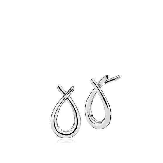 Attitude Small earrings fra Izabel Camille i Sølv Sterling 925