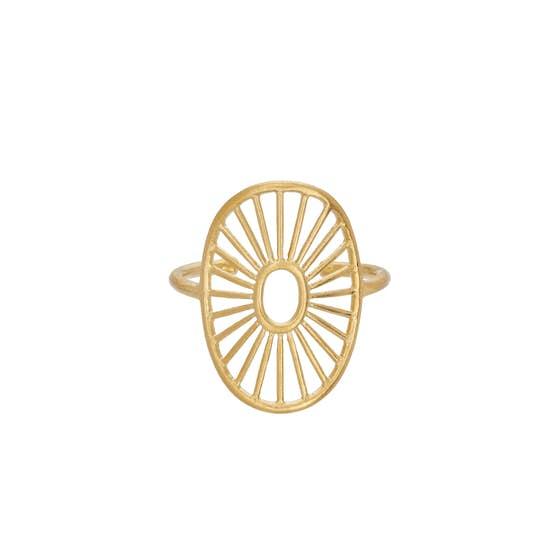 Daylight ring från Pernille Corydon i Förgyllt-Silver Sterling 925