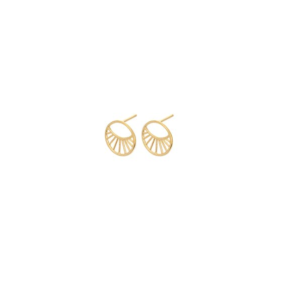Daylight earsticks fra Pernille Corydon i Forgyldt-Sølv Sterling 925|Mat