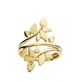 Poetry Large ring fra Izabel Camille i Forgylt-Sølv Sterling 925