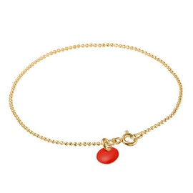 Enamel bracelet Red