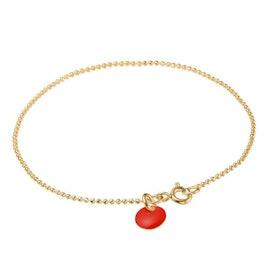 Enamel bracelet Red