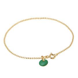 Enamel bracelet Petrol Green