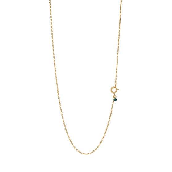 Enamel Anchor chain fra Enamel Copenhagen i Forgyldt-Sølv Sterling 925|Blank