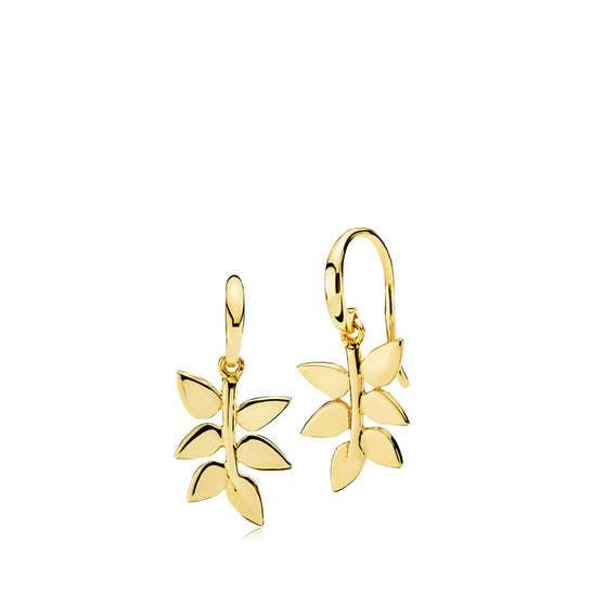 Poetry earrings fra Izabel Camille i Forgyldt-Sølv Sterling 925