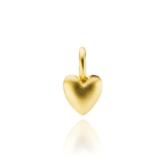 Soulheart pendant von Izabel Camille in Vergoldet-Silber Sterling 925