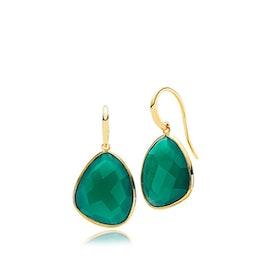 Orient Green Onyx Medium earrings