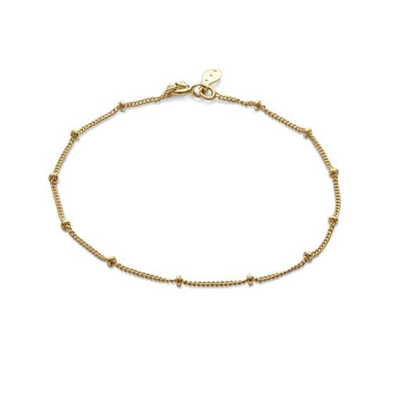 Nala bracelet fra Maanesten i Forgyldt-Sølv Sterling 925 Blank