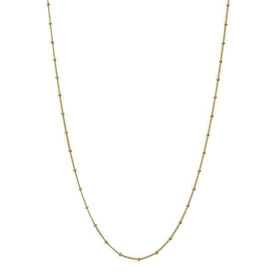 Nala necklace fra Maanesten i Forgyldt-Sølv Sterling 925|Blank